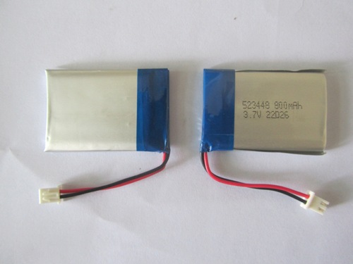 701855 3.7V 500mAh 15~20c Li-Po Lithium Rechargeable Battery with Jst- Achr-03V-S